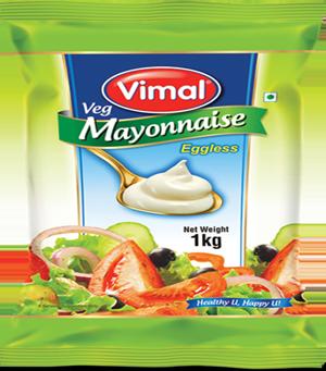 Vimal Veg Mayonnaise - 1 Lt.