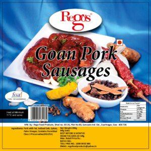 Rego's Goan Pork Sausages - 200g