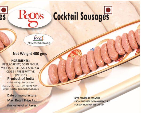 Rego's Cocktail Sausages - 400g