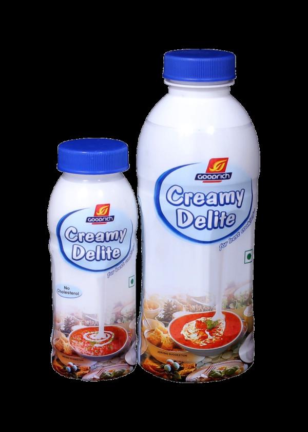 Goodrich Creamy Delite - Non Dairy Cooking Cream - 500ml